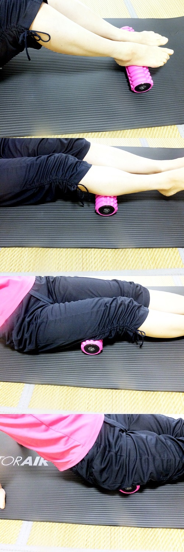 3Dマッサージロール 脚・足の使い方