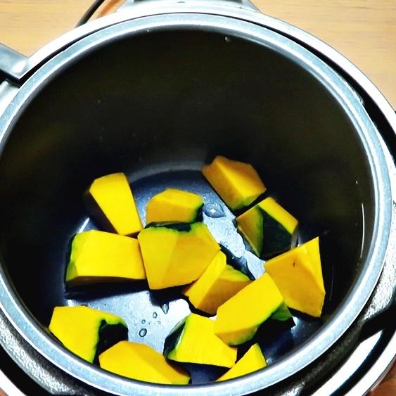 かぼちゃの煮物の作り方
