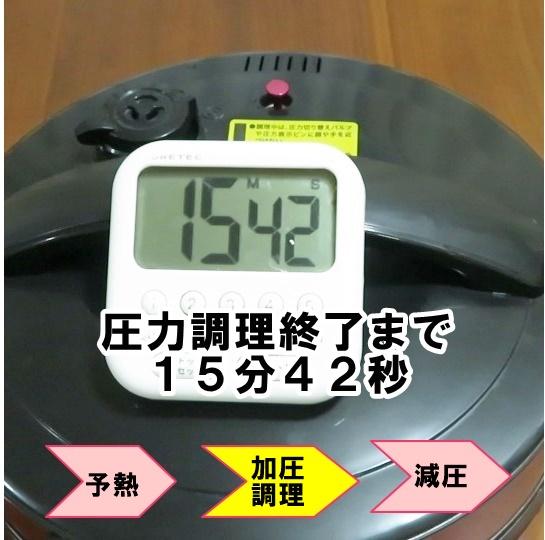 電気圧力鍋炊飯