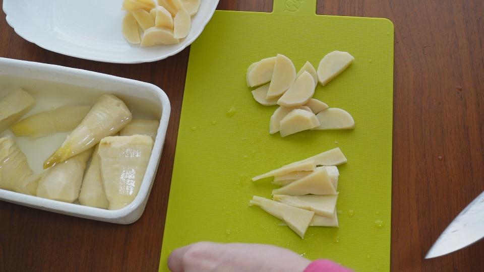 筍の切り方