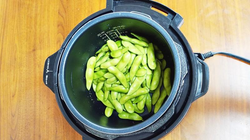 枝豆の茹で方